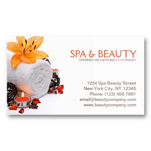 22 best images about business cards for massage therapists - Beauty salon business ...
