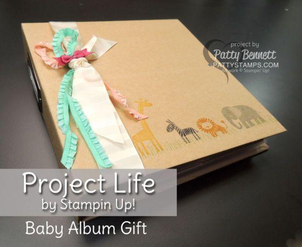 Project Life Baby Girl Album – Geschenk für eine neue Mutter, um Babys Fotos und …   – ALL