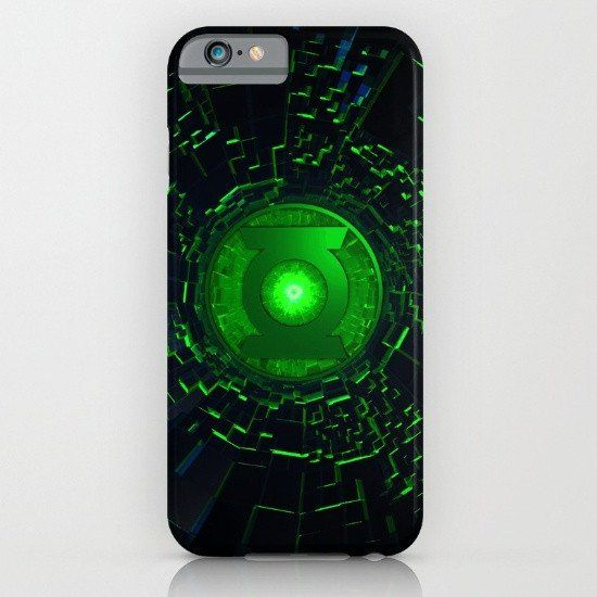 Green Lantern Logo iphone case, smartphone
