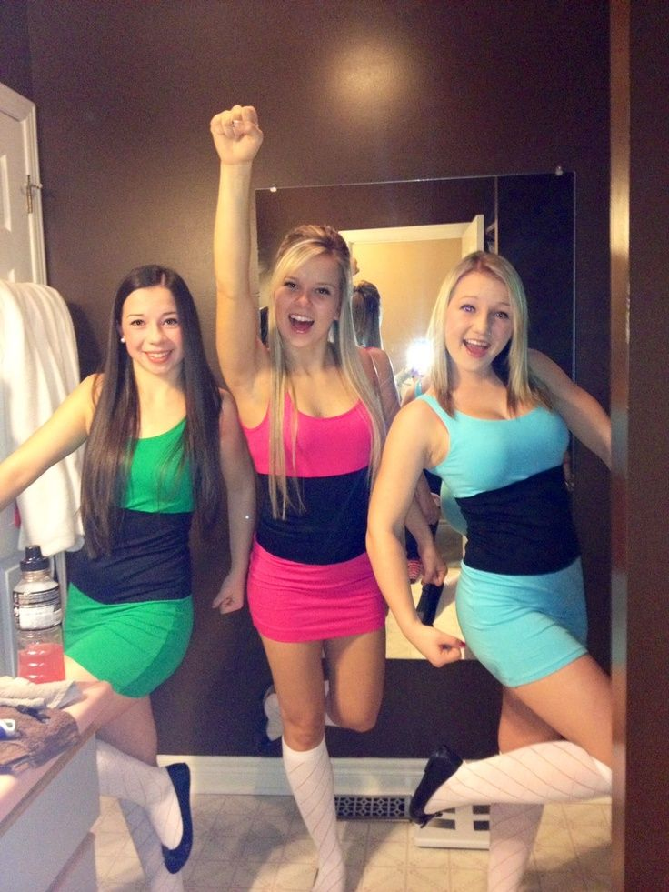 powerpuff girls costumes college google search halloween 2017halloween partyhalloween - Girls Halloween Party