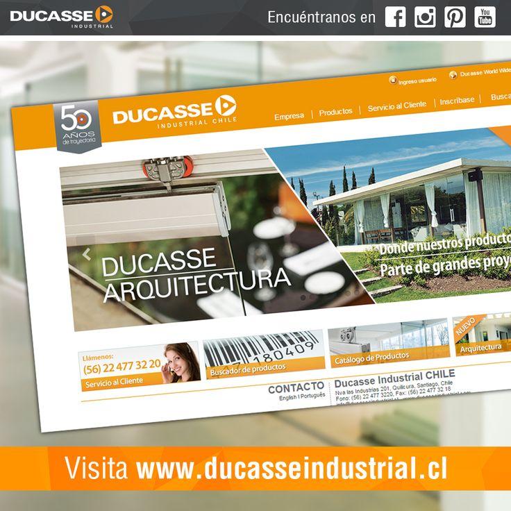 Visita nuestro sitio www.ducasseindustrial.com y conoce de nuestros productos, sistemas y soluciones que tenemos para tus proyectos. #ducasseindustrial #web #website #page #vistanos  #followme #like