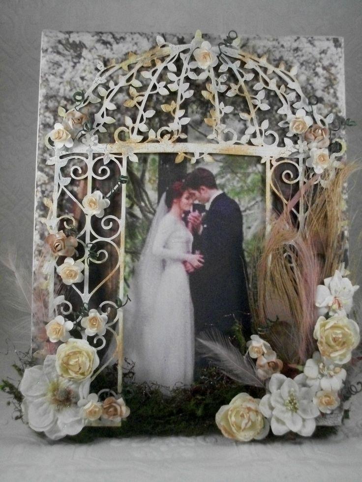 Altered Canvas - Scrapbook.com....love this!!!!!!