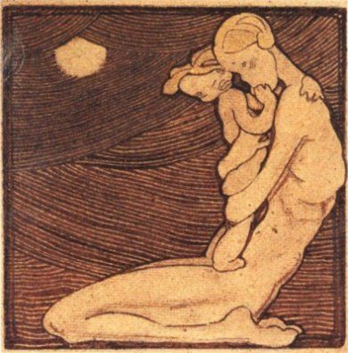 Maternidad (1929) Marga Gil Roësset
