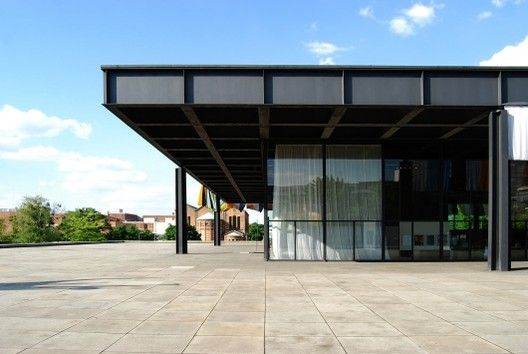 Neue National Gallery in Berlin / Mies van der Rohe, © Unknown photographer
