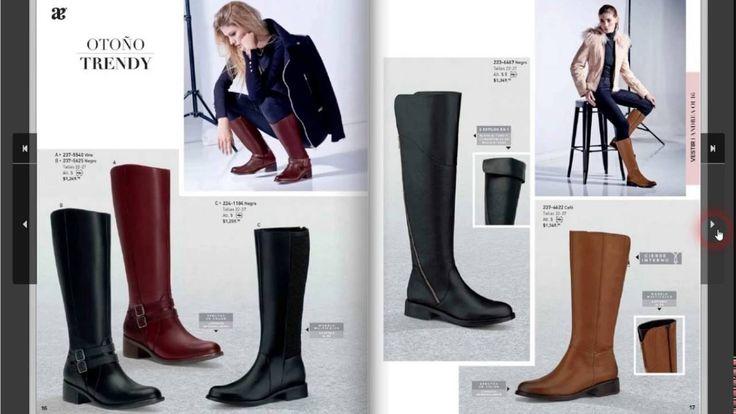 Coleccion de botas andrea 2016 otoño invierno. Checa botas y botines de ultima moda para mujer
