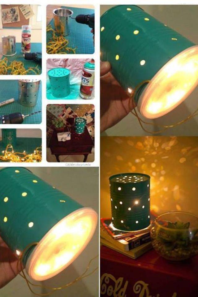 Cute idea..... DIY lamp
