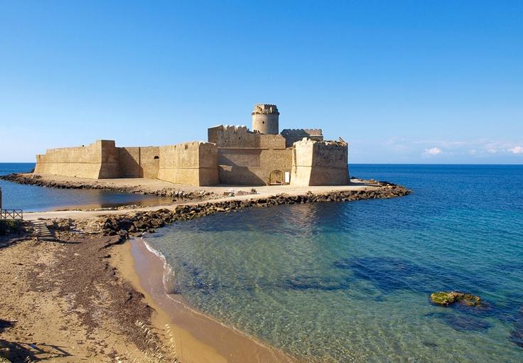 Le Castella, Isola Capo Rizzuto Calabria italia, Vacanze
