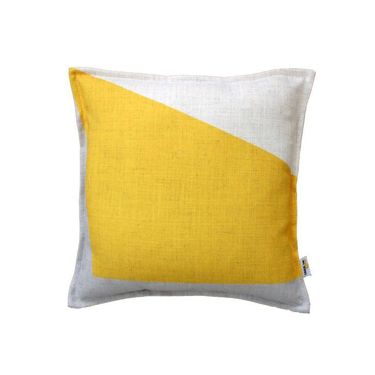 Block Cushion - Yellow | $125.00