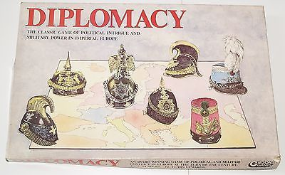 Vintage & Rare 1963 Gibsons Games Diplomacy Board Game Ex Condition Complete