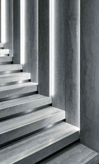 Park Associati | Brioni Flagship Store | Milan #stairs