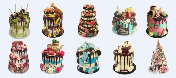 Cake Delivery London: Birthday Cakes, Wedding Cakes, Baby Shower Cakes are more by Anges de Sucre