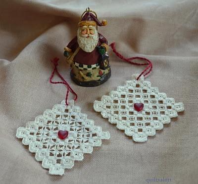 lovely hardanger ornament