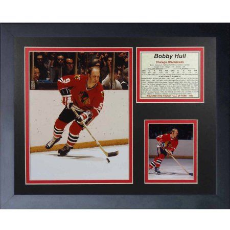 Legends Never Die Bobby Hull Collage Photo Frame, 11 inch x 14 inch