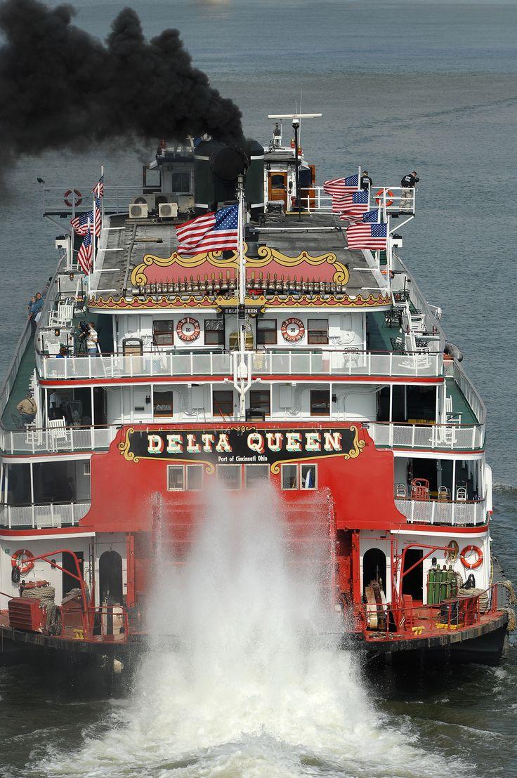 Cruised the Ohio River aboard the Delta