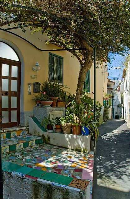 Ischia, Napoli,Italy I love the part of Italy that is like the South of France - where the lifestyle is about conversation, good food, smooth wine and the joy of life.