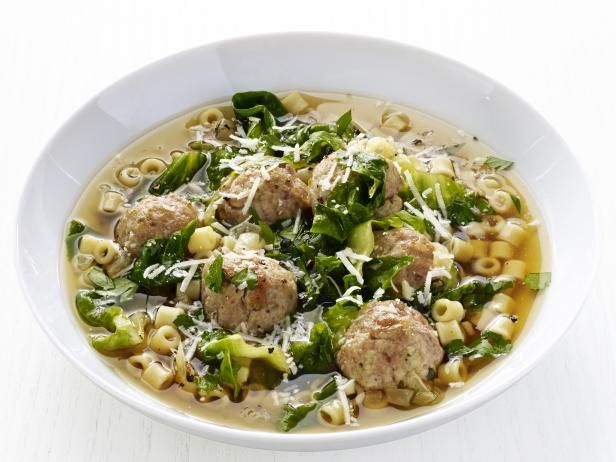 Get Food Network Kitchen S Italian Wedding Soup Recipe From