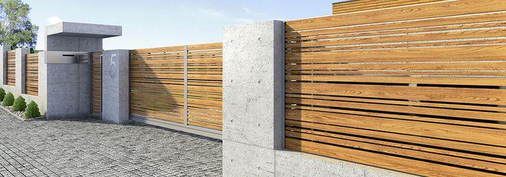 nowoczesne ogrodzenia aluminiowe