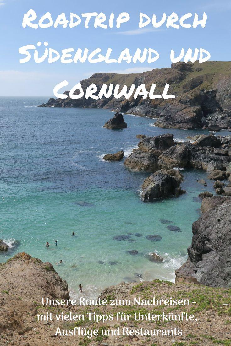 Roadtrip durch Südengland und Cornwall: unsere Route zum Nachreisen