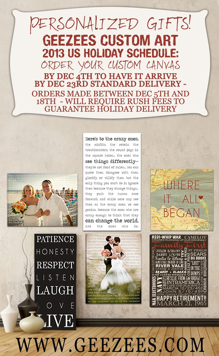 112 best personalized holiday gift ideas photo wall art images on