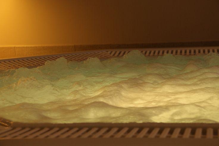 Whirlpool met hydromassage