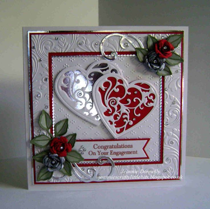 17 Best images about Ruby wedding anniversary card ideas on – Valentine Anniversary Cards