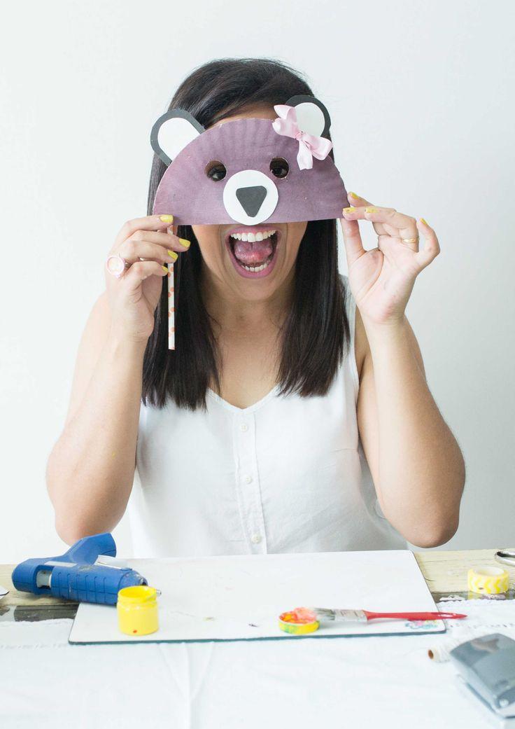 Fantasia de ursinho para crianças! Muito fofa e fácil de fazer!