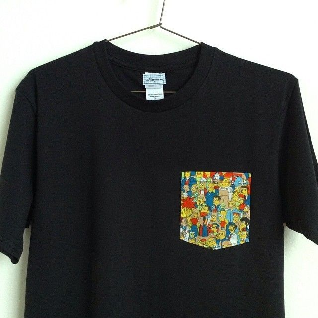SIMPSONS POCKET TEE, €18.00 by cellophane