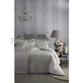 Valeron Grace stone - lenjerie de pat de lux din bumbac cu tesatura jacquard