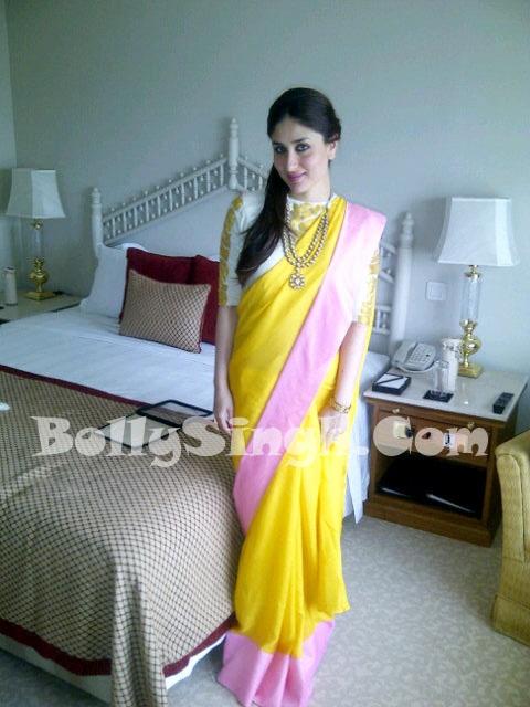 Kareena Kapoor in a Masaba Gupta saree