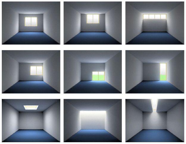 impacto de la iluminación en un espacio