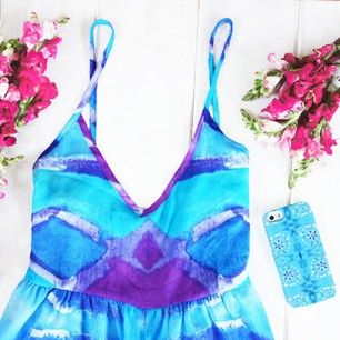 Loving this BRITT LASPINA Textile Design for Sabo Skirt x