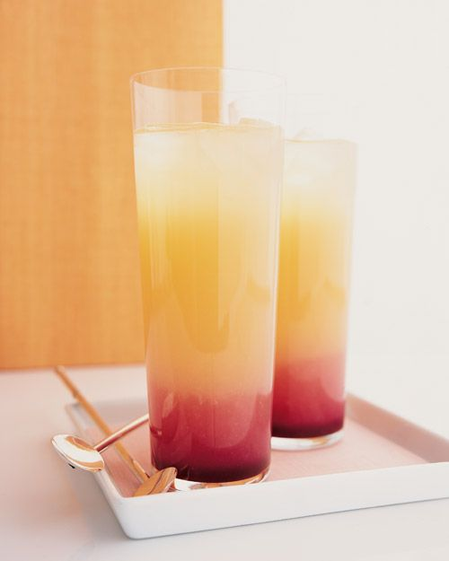 """try a tropical twist on the classic French aperitif with this Pineapple Gin """"Kir"""""""