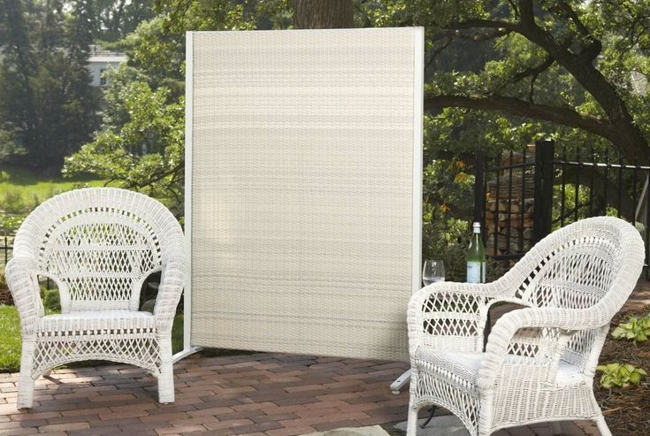 How to build a portable outdoor privacy screen for Creative ideas for outdoor privacy screens