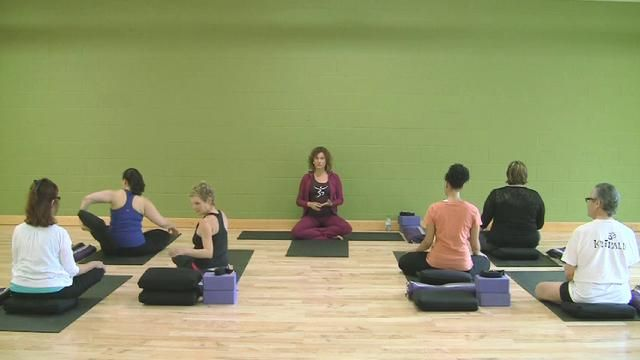Gentle Kripalu Yoga Class with Megha Nancy Buttenheim by Kripalu Center. Join Kripalu Yoga teacher Megha Nancy Buttenheim as she leads you through an hour-long gentle yoga class. A great class for beginners—and everyone interested in exploring a gentle practice.