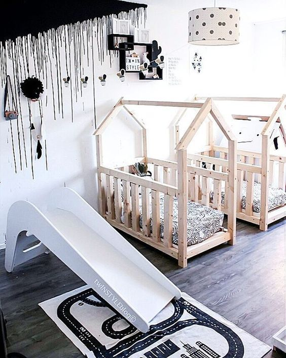 The Boo And The Boy Kids Rooms On Instagram: The Boo And The Boy: Shared Kids' Rooms