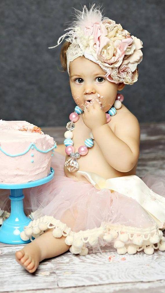 Valentine's Day Sale Pom Pom Ribbon Tutu Skirt - Custom - Pink, Blue, Yellow, Brown, Black, Purple, White, Cream