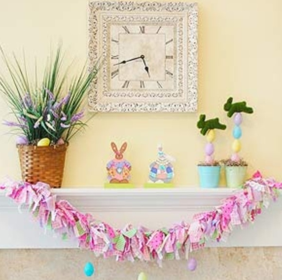 love the topiaries easy to recreate - Mantel Der Ideen Mit Uhr Verziert