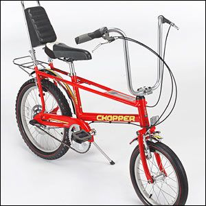 My first bike looked something like this : )