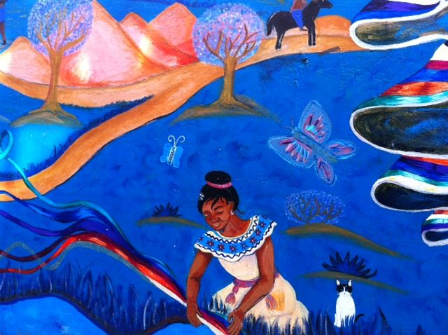 History of the zapatista mural at city lights by the for City lights mural