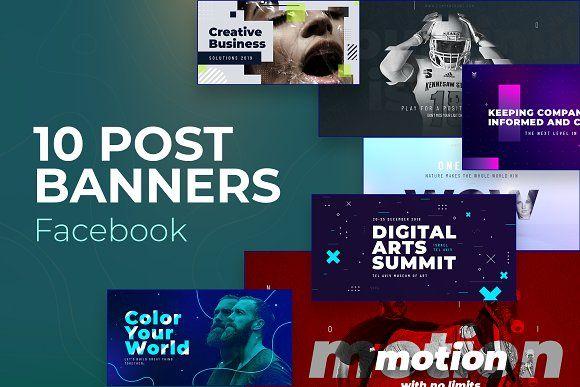 Facebook Post Banners V4 Instagram Template Facebook Posts Banner Template