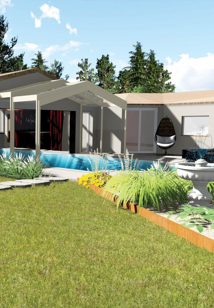 Les 73 meilleures images du tableau cr ations de jardins for Architecte paysagiste toulouse