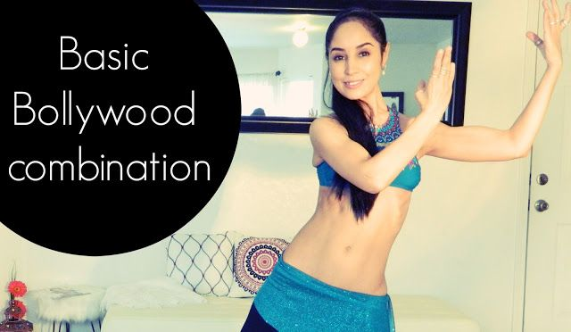 Basic Bollywood combination: 3 step turn and applause - Free belly dance classes