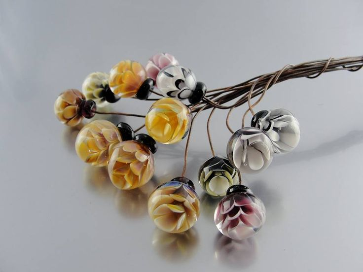 Now these are head pins worth having.. ...    Rachel Aksoy.   ‎Lampwork Bead Market