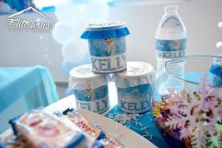 Pringles y botellas de agua personalizadas. Elite house, eventos y decoraciones.  Barranquilla, Atlántico  Fb: www.facebook.com/elitehousebq  Instagram: elitehousebq  Web: www.elitehousebq.blogspot.com.co