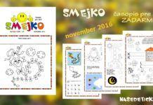 Časopis SMEJKO – novembrové číslo