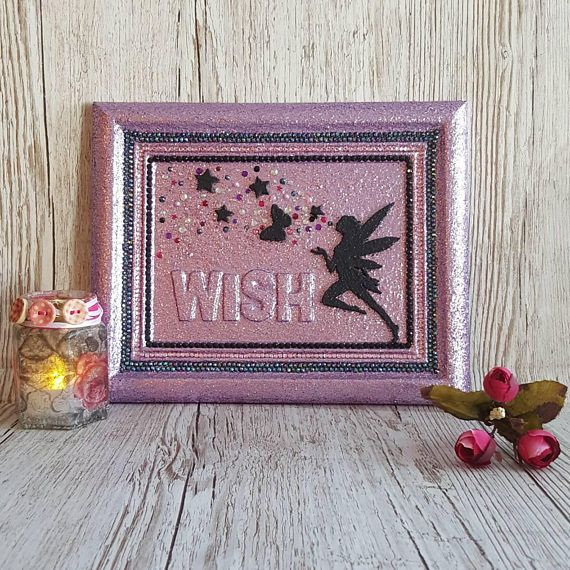 Check out this item in my Etsy shop https://www.etsy.com/uk/listing/493223367/fairy-dust-wish-glitter-in-frame-custom