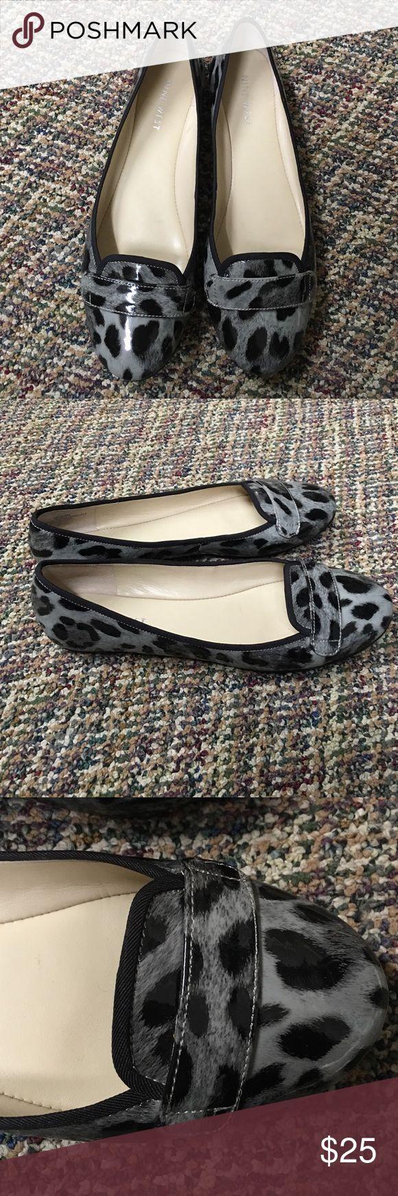 Nine West cheetah flats size 6 Nine West cheetah flats size 6 Nine West Shoes Flats & Loafers