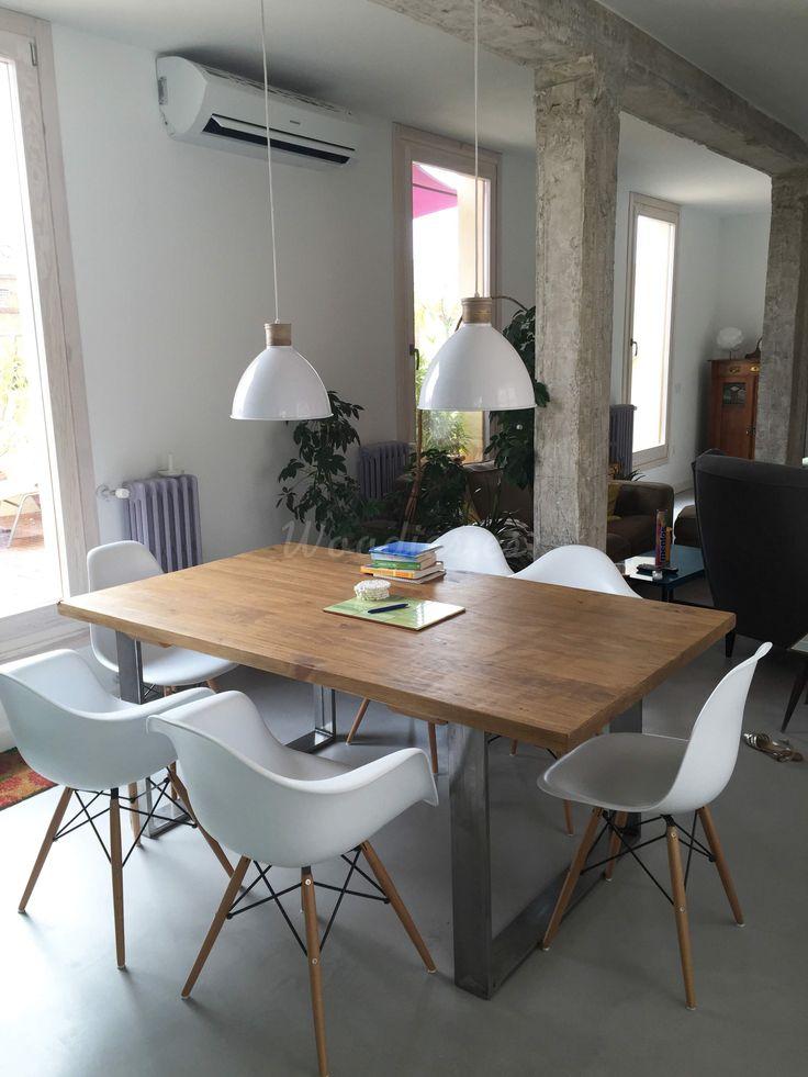 Mejores 19 imágenes de Mesa de comedor industrial en Pinterest ...