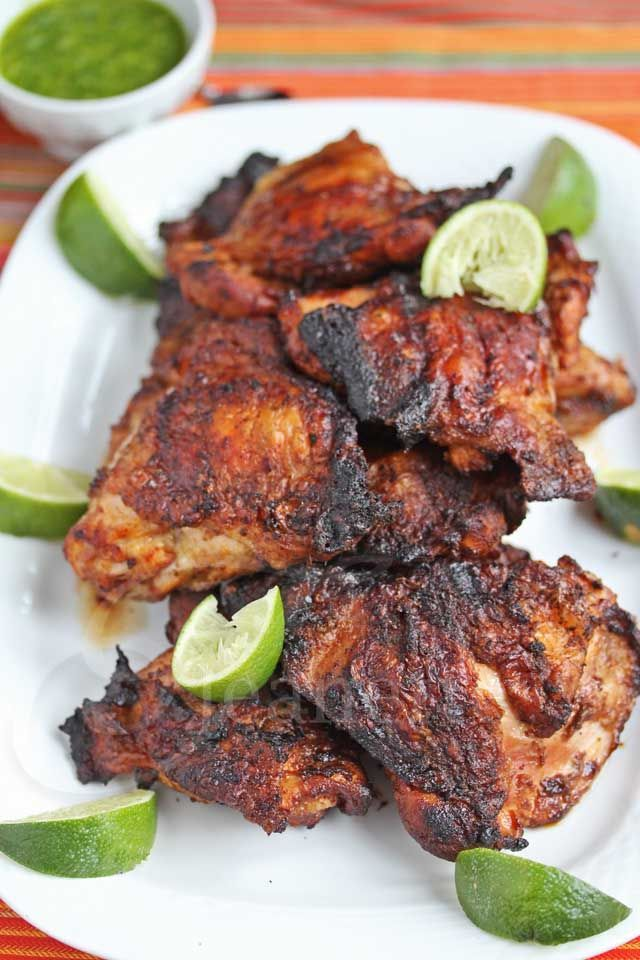 Must try recipe  ~ Smoky Peruvian Chicken © Jeanette's Healthy Living