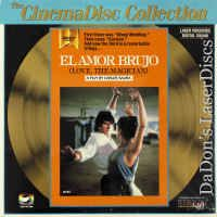 El Amor Brujo - Love, The Magician NEW LaserDisc CinemaDisc Drama Foreign Buy for $79.97
